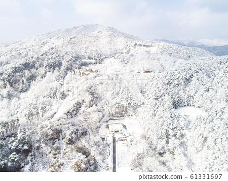 한국의 설경  61331697