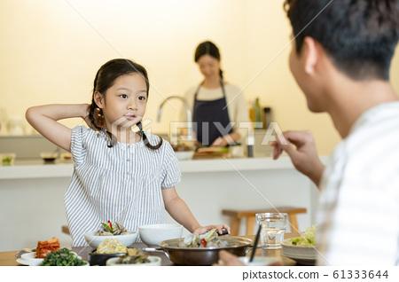가족 식사 61333644