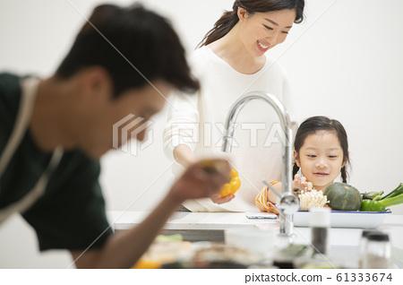 가족 식사 61333674