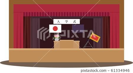 Entrance ceremony (gymnasium background) 61334946