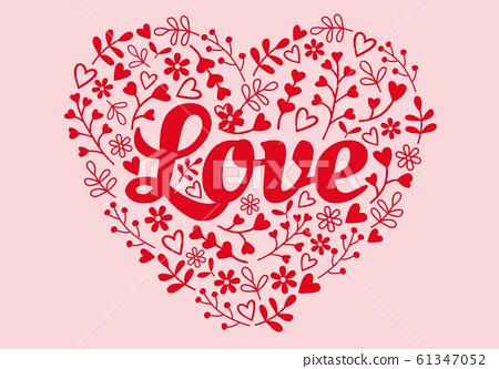 LoveFlowerHeart20.eps 61347052