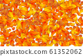 Autumn sale banners. Special discount banner with fallen leaves, season sales autumnal frames and fall price. September or october shopping promotion advertising sticker isolated vector set eps10 61352062