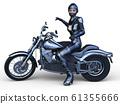 自行車和騎手 61355666