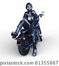 自行車和騎手 61355667