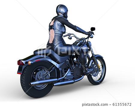 自行車和騎手 61355672