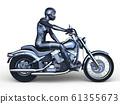 自行車和騎手 61355673