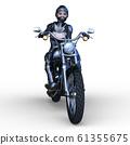 自行車和騎手 61355675