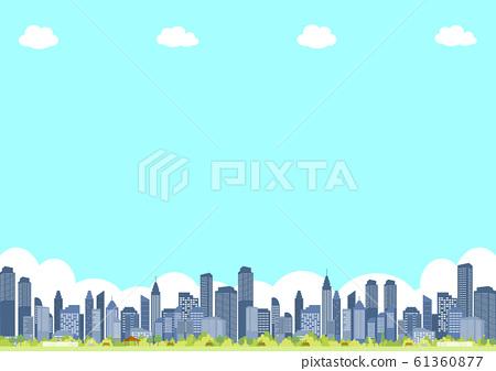 城市公園景觀 61360877