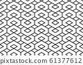 Abstract geometric pattern. A seamless vector 61377612