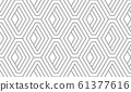 Abstract geometric pattern with stripes, lines. 61377616