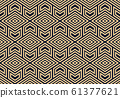Abstract geometric pattern. A seamless vector 61377621