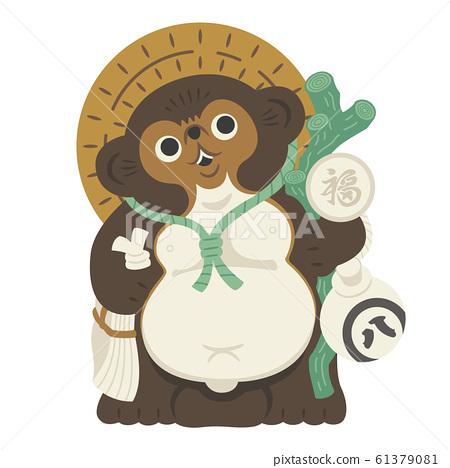 浣熊裝飾 61379081
