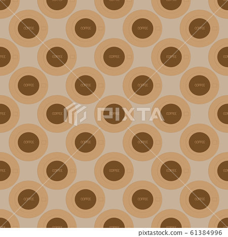Seamless pattern on the light beige background 61384996