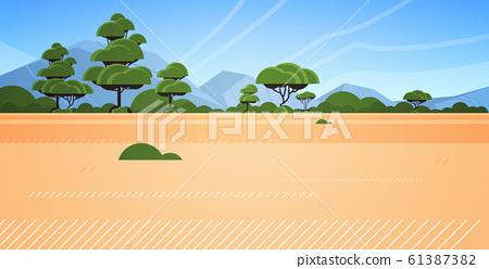 australian desert wild nature landscape background horizontal 61387382