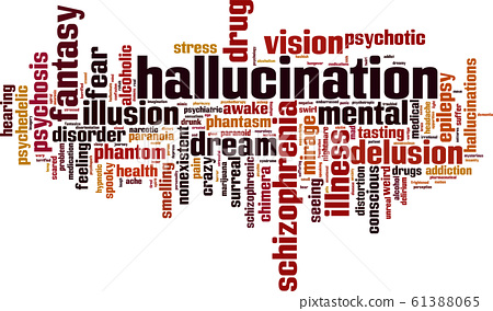 Hallucination word cloud 61388065