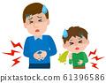 諾如病毒家庭感染腹痛腹瀉圖 61396586