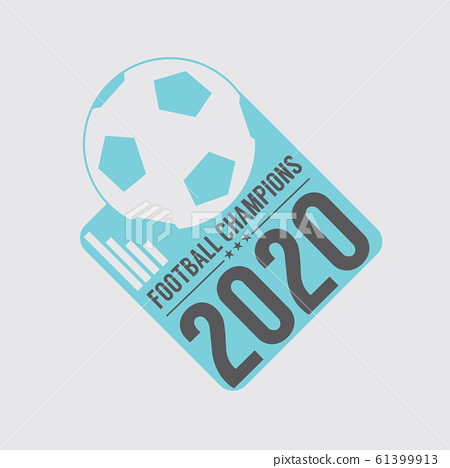 2020 Soccer Or Football Champions Badge Vector Illustration 61399913
