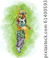아오모리 네부타 축제 [날개와】 61400593