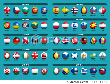 European soccer tournament qualifying draw 2020 . 61401479