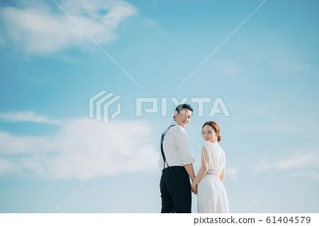 海邊婚禮肖像 61404579