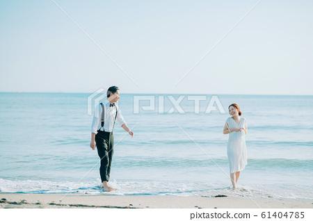 海邊婚禮肖像 61404785