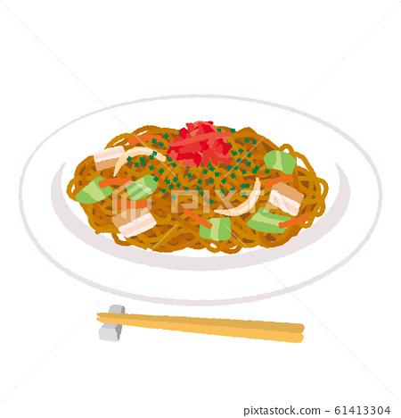 Illustration of Yakisoba 61413304