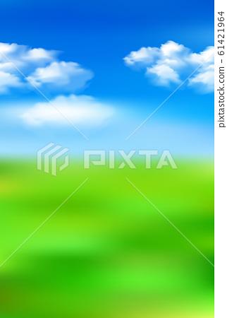 Meadow sky landscape background 61421964