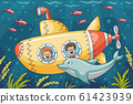 Children in a submarine 61423939