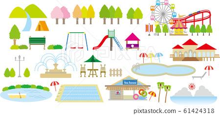 公園休閒設施泳池套裝 61424318