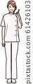 一個穿白大褂的女人 61426103