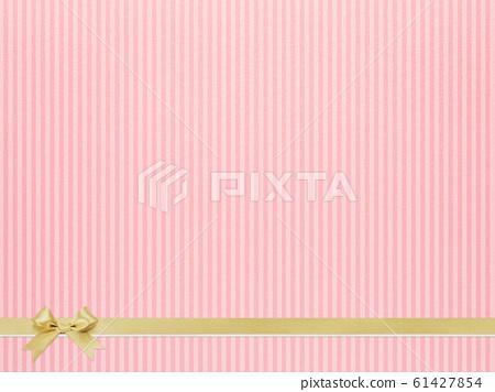 Background-pink-stripes-ribbon 61427854
