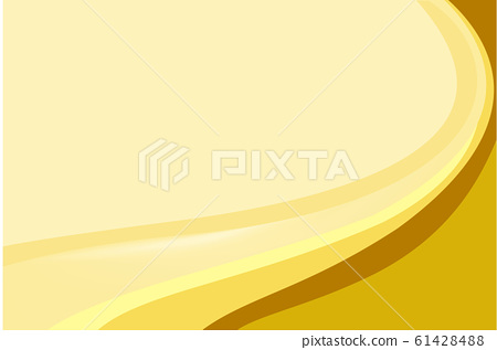 Background design with yellow abstract patterns 61428488