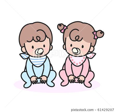 一個嬰兒 61429207