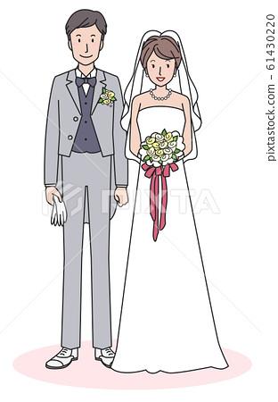 新郎和新娘 61430220