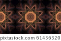 Mandala, oriental pattern 61436320