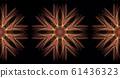 Mandala, oriental pattern 61436323
