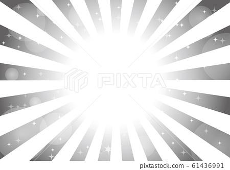 灰色的徑向背景光閃閃發光 61436991