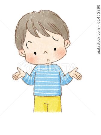 소년 기가 막힌 포즈 (차 선) 61455899