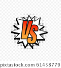 Versus logo vs letters for sports and fight 61458779