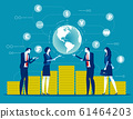 Global financial. Concept business finance vector 61464203