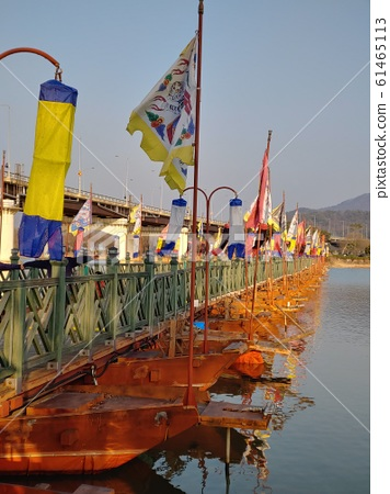 자연,환경,풍경,한강,남한강,양수리,산,강,강물,배,다리, 61465113