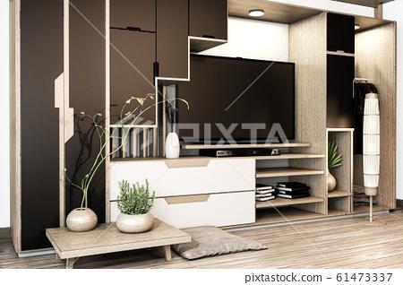 Black and white Cabinet tv mix wardrobe shelf 61473337