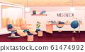 Salon for manicure, pedicure nails care procedures 61474992