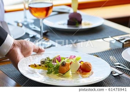 美味的晚宴形象 61478941