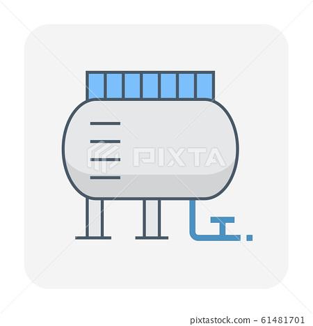 gas tank icon 61481701