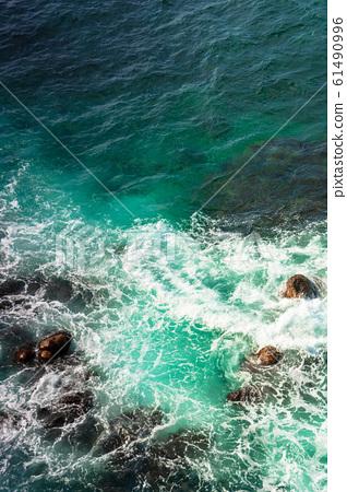crushing sea waves texture 61490996