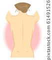 女人背部的插图(裸体,美丽,健康,说明图) 61491526