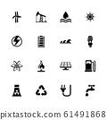 Energy - Flat Vector Icons 61491868