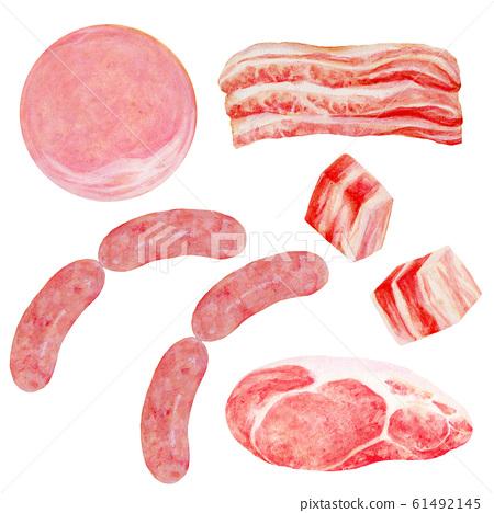 肉插圖集 61492145