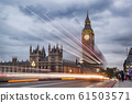 Big Ben in the evening, London, United Kingdom 61503571